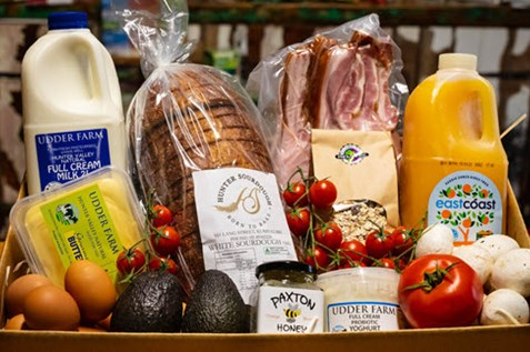 hunter valley produce deliveries