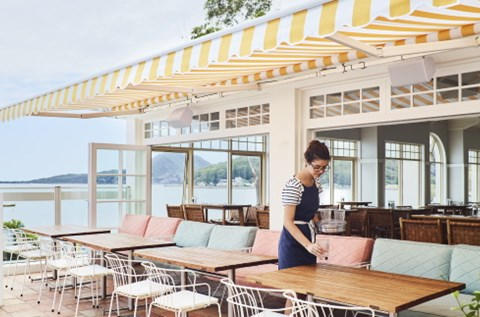 shoal bay country club restaurant port stephens
