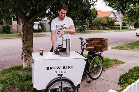 brew bike nitro cocktail delivery newcastle