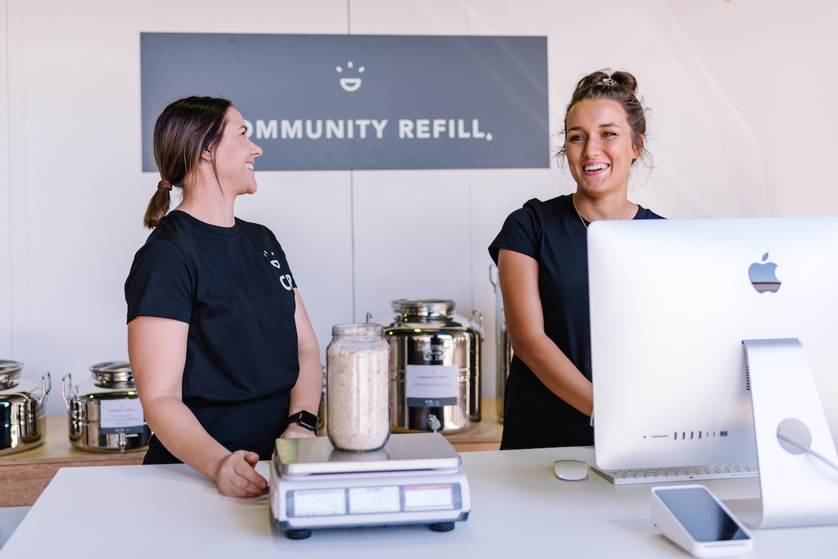 community refill lake macquarie bulk natural products refill store