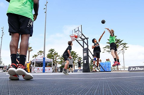 3x3 basketball hustle competition newcastle 2021