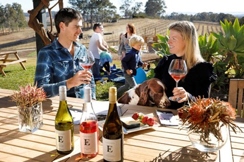 family friendly cellar doors wine tasting hunter valley