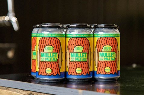 shout brewing co mullet pale ale cans newcastle brewery