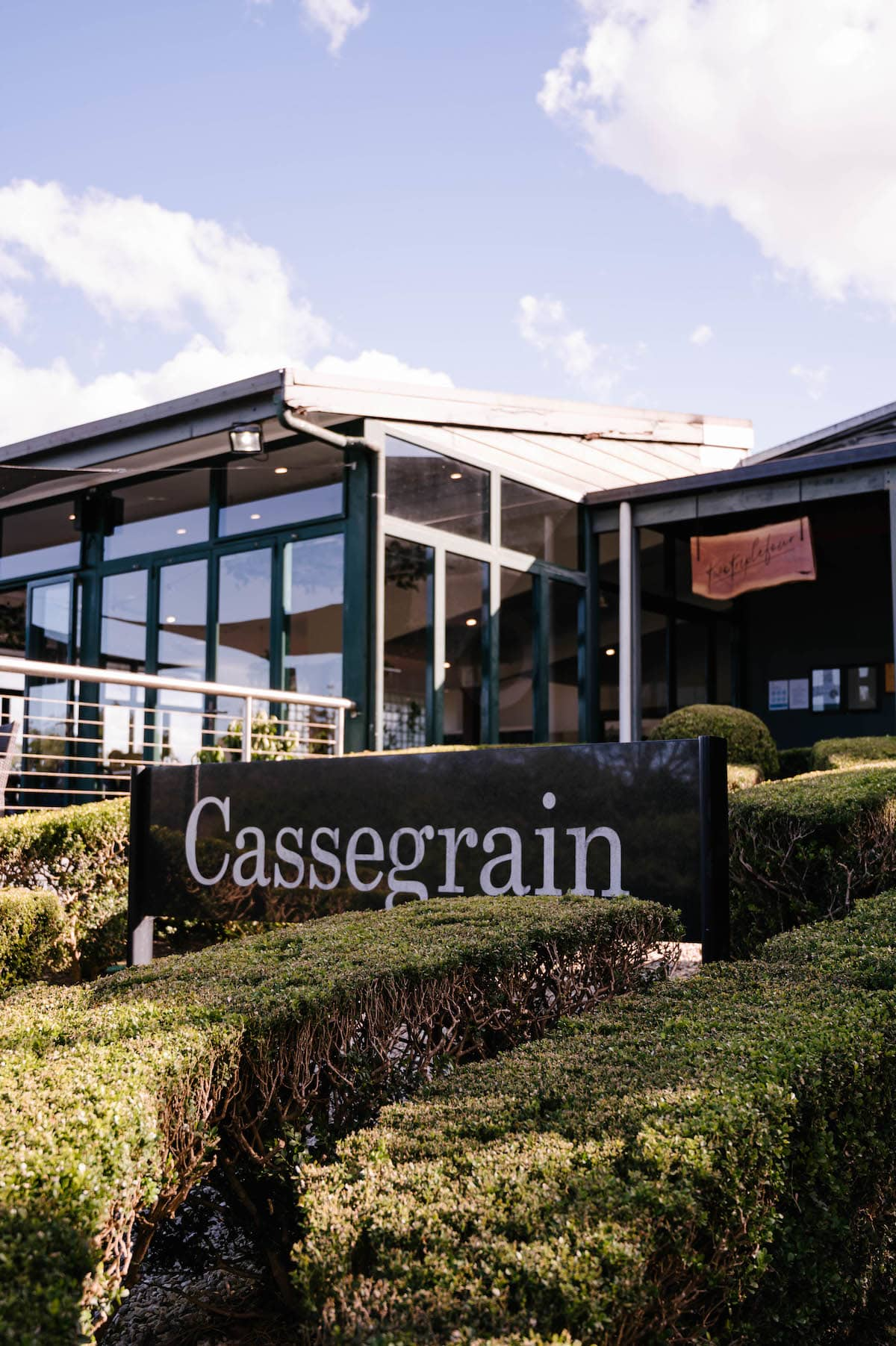 cassegrain wines vineyard cellar door port macquarie