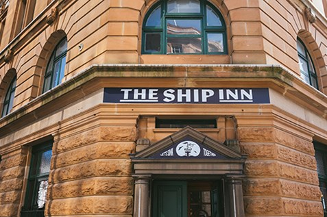 the ship inn pub hunter street newcastle