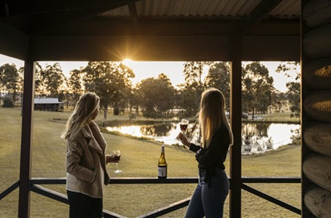 palmers lane estate accommodation hunter valley