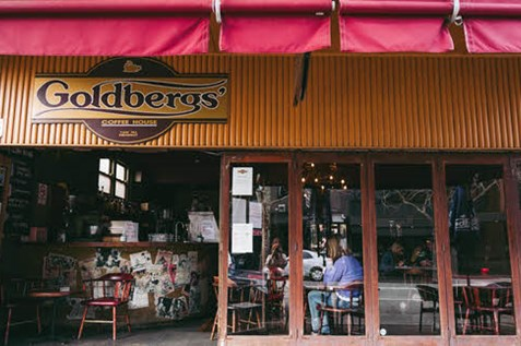 goldbergs coffee house cafe darby st newcastle