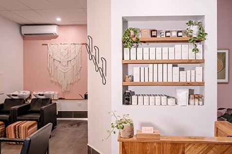 unravel studio hair salon tighes hill newcastle
