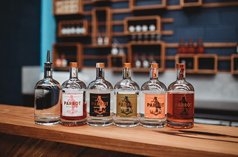 parrot gin distilling the aviary orange nsw