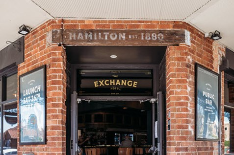 the exchange hotel restaurant beaumont st newcastle