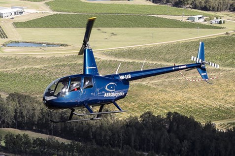 aerologistics helicopters hunter valley