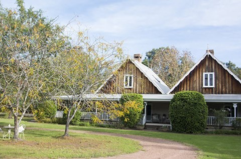 the carriages accommodation hunter valley