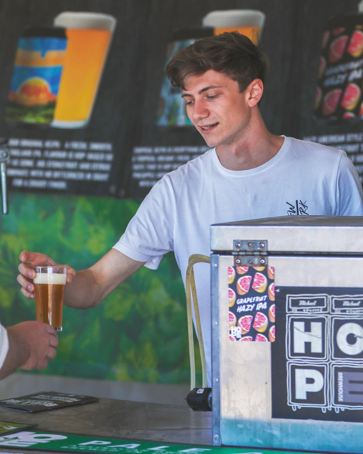 Hunter Valley Beer and BBQ Festival at Hope Estate